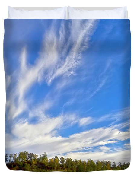 The Skies Duvet Cover by Heiko Koehrer-Wagner