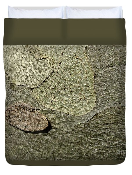 The Skin Of Tree Duvet Cover