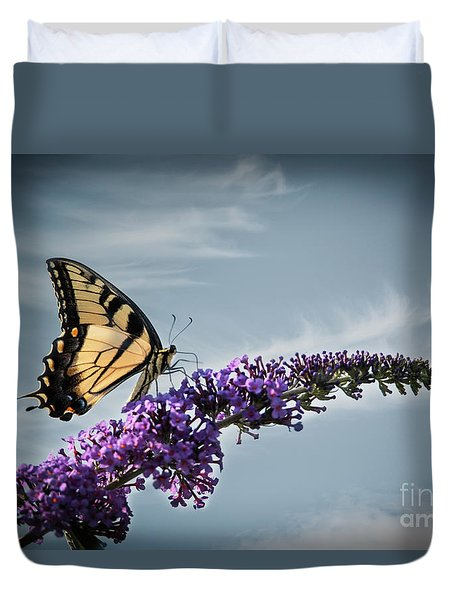 The Sky Is The Limit Duvet Cover by Judy Wolinsky