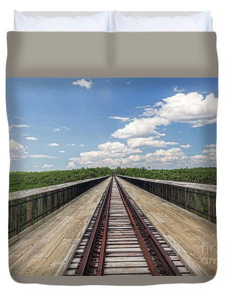 The Skywalk Duvet Cover