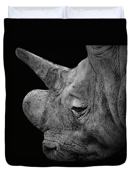 The Sleepy Rhino Duvet Cover