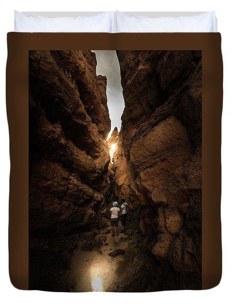 The Slot Duvet Cover by Ralph Vazquez