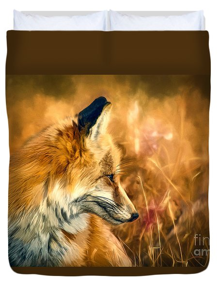 The Sly Fox Duvet Cover