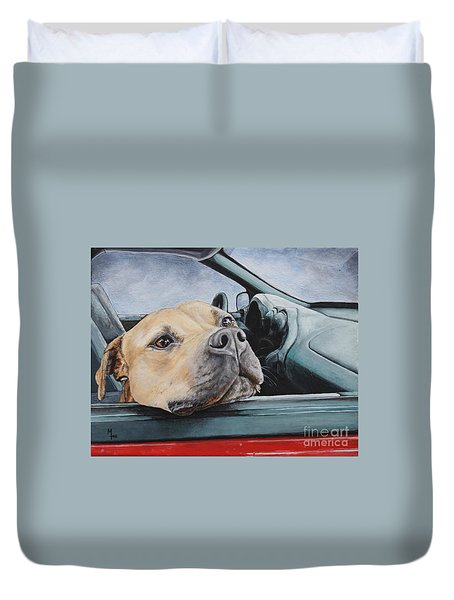 The Smell Of Freedom Duvet Cover