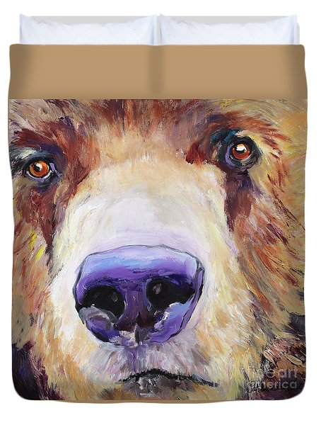 The Sniffer Duvet Cover