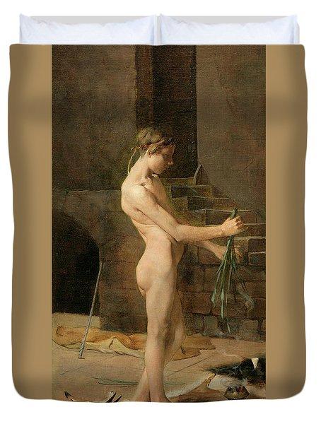The Socerer's Slave Duvet Cover