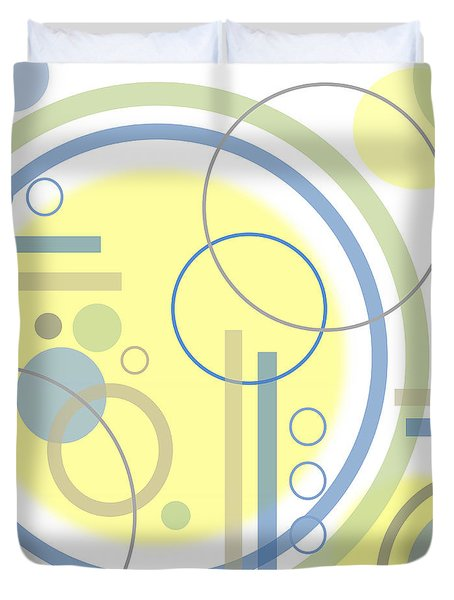 The Softness Of Circles Duvet Cover