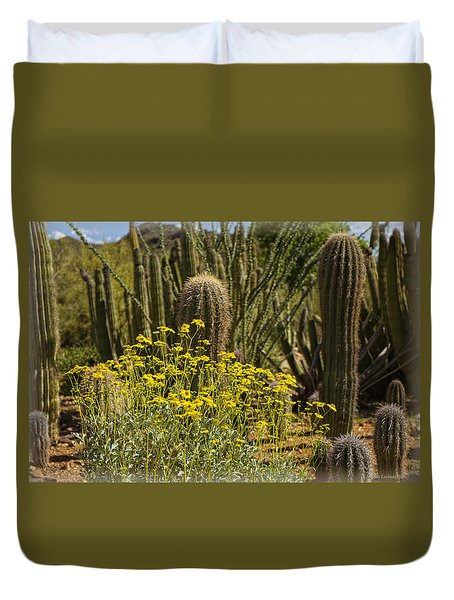 The Song Of The Sonoran Desert Duvet Cover