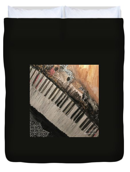 The Song Writer 2 Duvet Cover