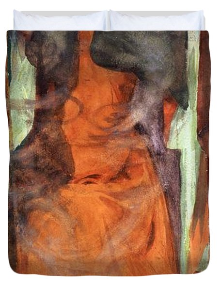 The Sorceress Duvet Cover by Henry Meynell Rheam