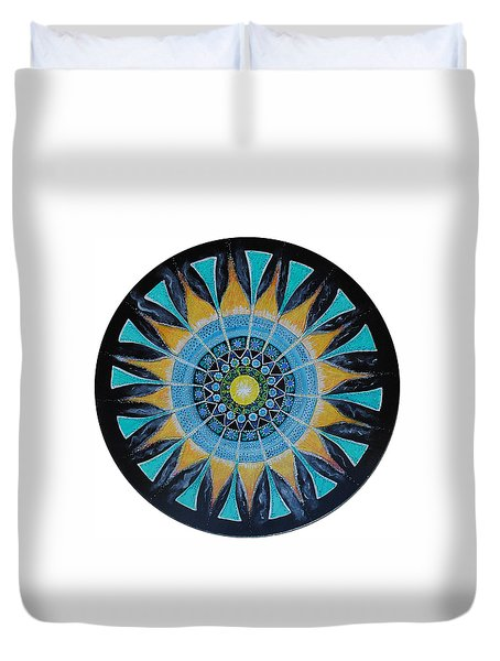 The Soul Mandala Duvet Cover