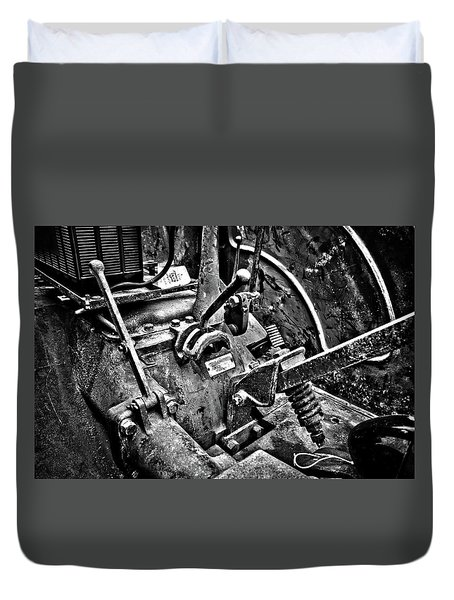 The Soul Of A John Deere Duvet Cover