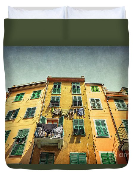 The Sound Of Life Duvet Cover