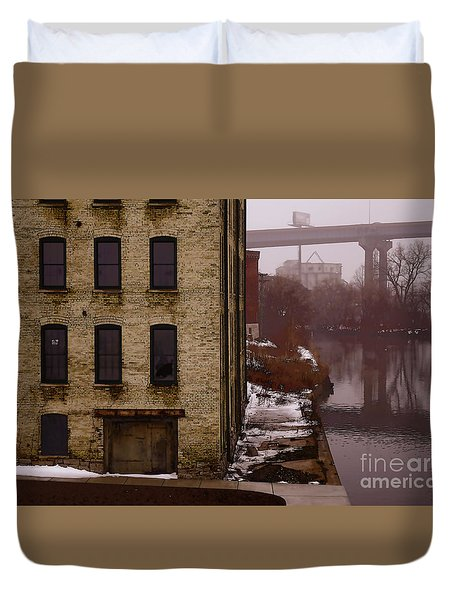 The South Bank Duvet Cover by David Blank