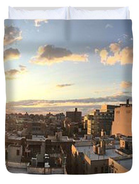 The Bronx Morning Duvet Cover