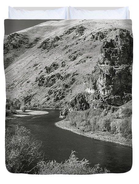 South Fork Boise River 3 Duvet Cover