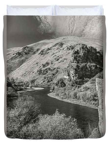South Fork Boise River 3 Duvet Cover