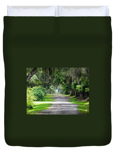 The South I Love Duvet Cover by Patricia Greer