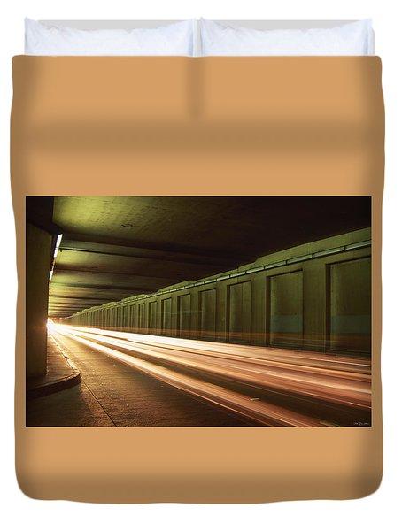 The Speed Of Lights Duvet Cover