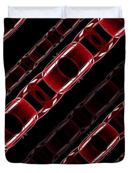 The Speed Of Traffic - Ferrari F40 Duvet Cover
