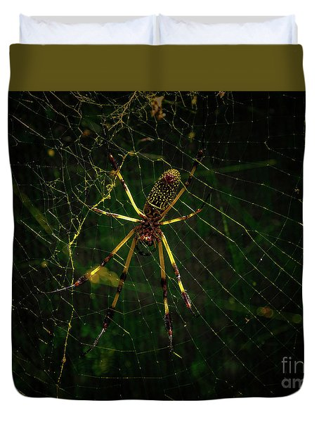The Spider Duvet Cover
