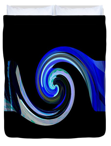 The Spiral Duvet Cover by Thibault Toussaint