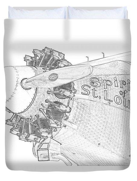 The Spirit Duvet Cover