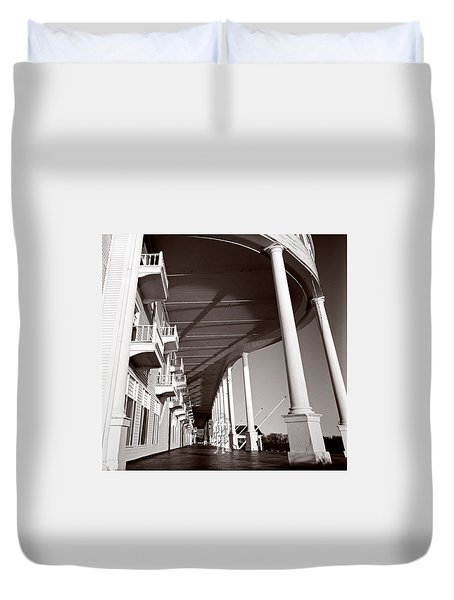 The Spirit Of Mackinac Duvet Cover