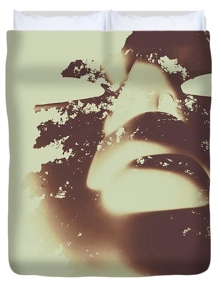 The Spirit Within Duvet Cover