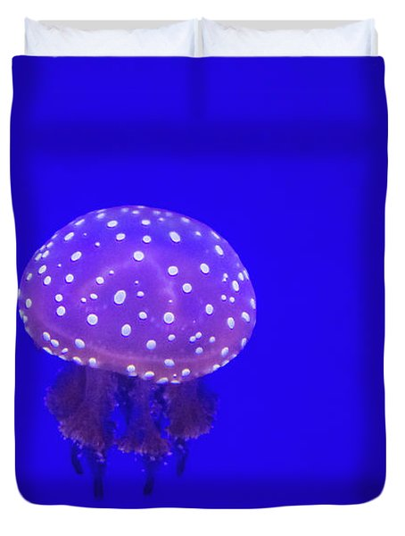 The Spotted Jellyfish Duvet Cover