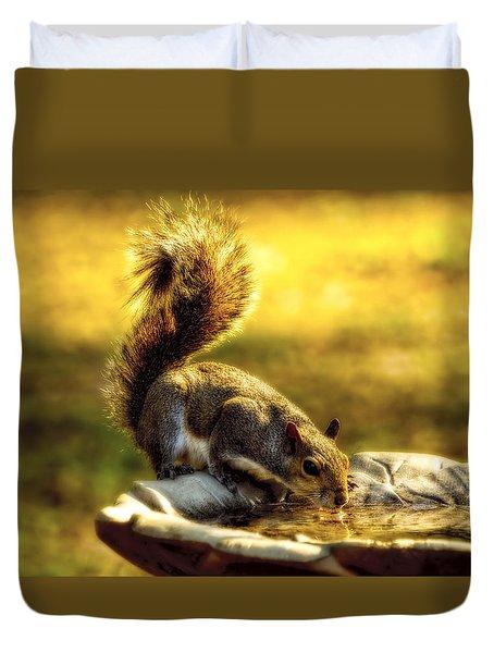 The Squirrel Duvet Cover