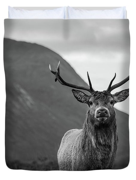 The Stag.  Duvet Cover
