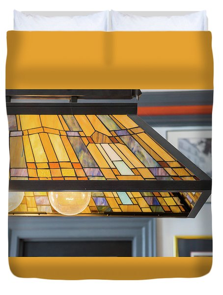 The Stained Glass Duvet Cover