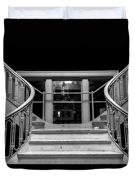 The Stairwell Duvet Cover