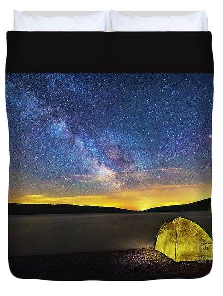 Stellar Camp Duvet Cover
