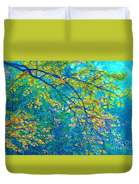 The Star Of The Forest - 773 Duvet Cover