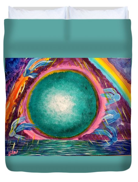 The Stargate Duvet Cover