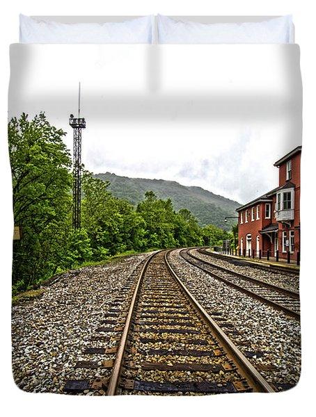 The Station Duvet Cover
