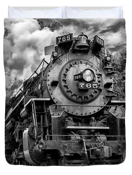 The Steam Age  Duvet Cover