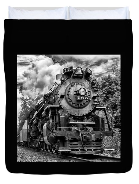 The Steam Age  Duvet Cover