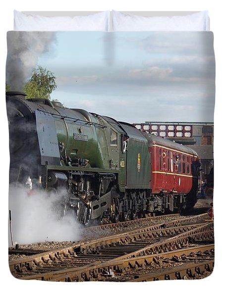 The Steam Railway Duvet Cover