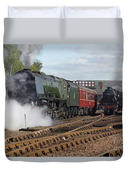 The Steam Railway Duvet Cover