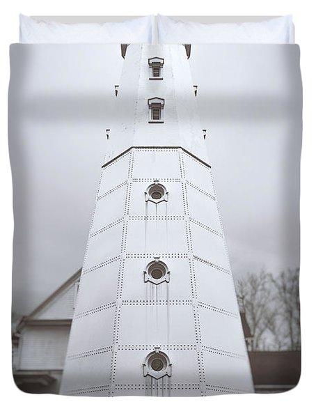 The Steel Tower Duvet Cover