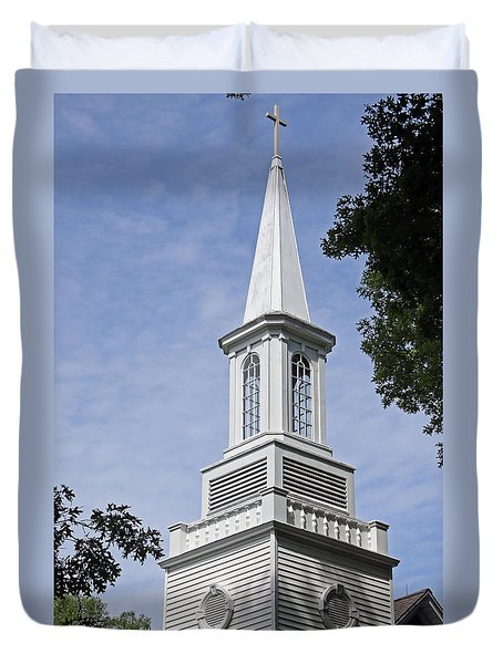 The Steeple Duvet Cover