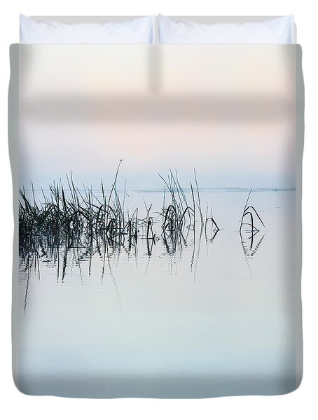 The Stillness Of Life Duvet Cover by Shelby  Young
