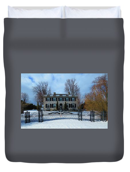 The Stone House Duvet Cover
