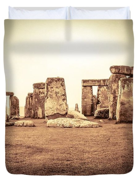 The Stones Duvet Cover