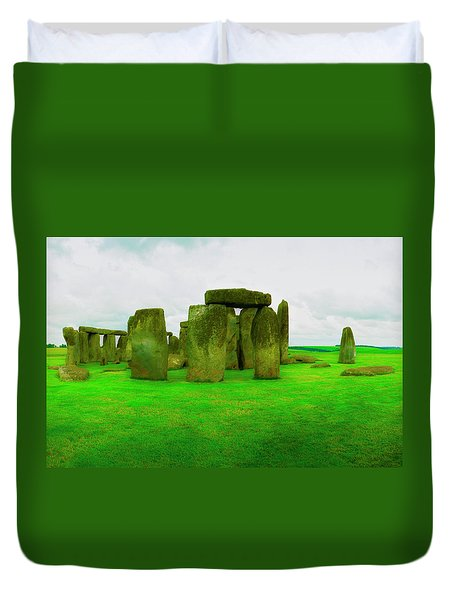 The Stones Duvet Cover by Jan W Faul