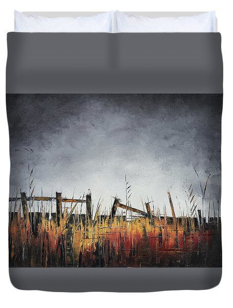 The Stories Were Left Untold Duvet Cover