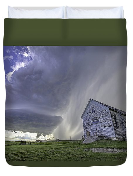 The Storm Will Pass Duvet Cover